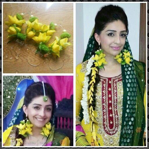 Fresh flower earrings made by bridal flower jewellery www.bridalflowerjewellery.weebly.com