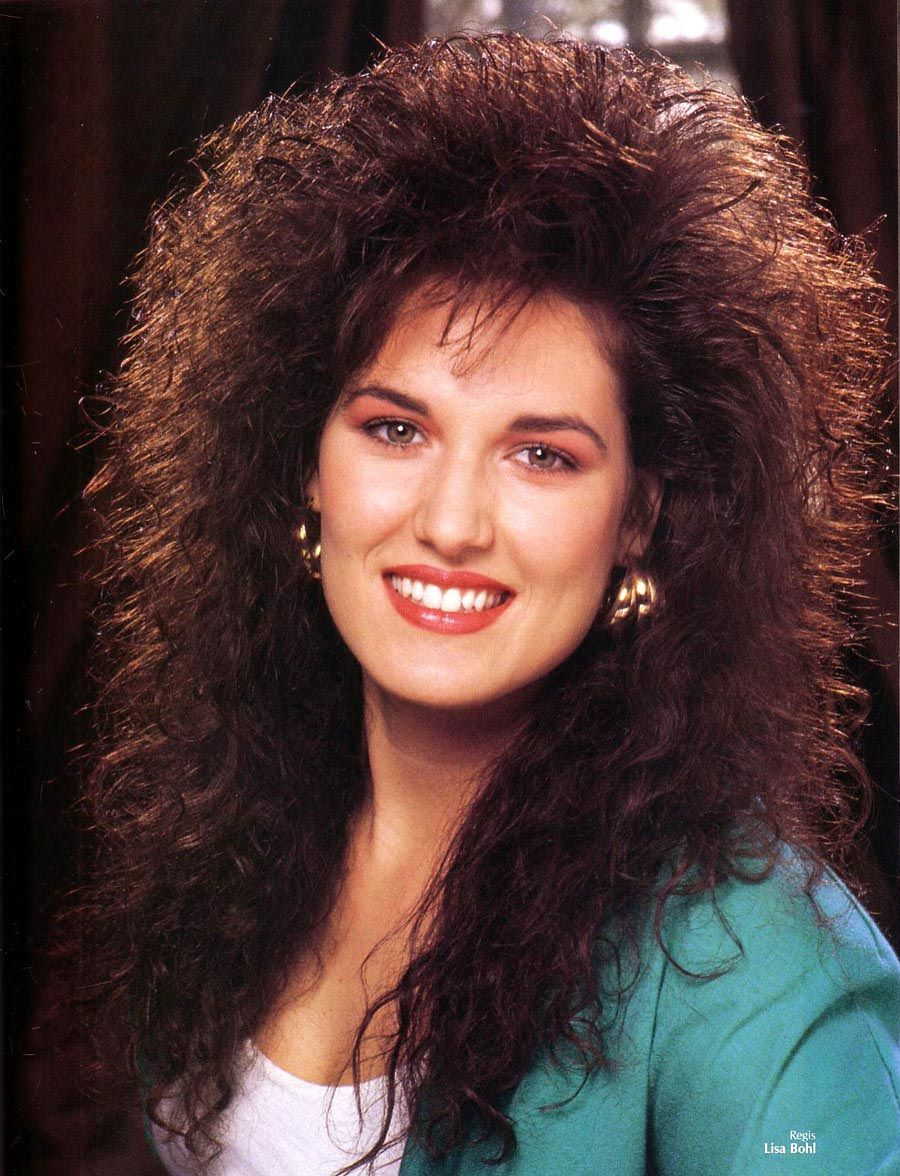 From Any 80s Hairstyle Magazine 80s Hair 80s Hair Permed