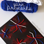 Pom-Pom American Flag Painting Craft for Kids - Crafty Morning
