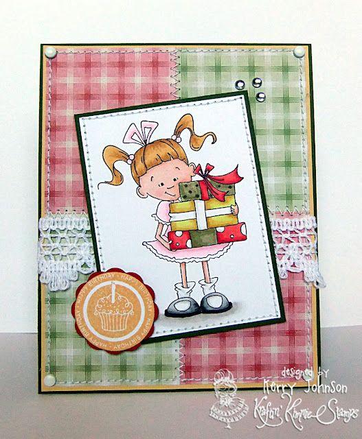 Kraftin' Kimmie Stamps Birthday Lulu