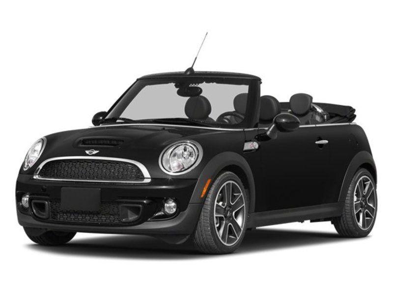 All Black Mini Cooper Convertible S More