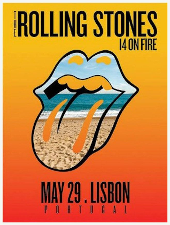 Tour Posters Europe 2014 - 14 On Fire | ROCK posters Jimi