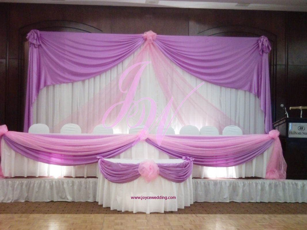 Pink And Purple Wedding Decoration Quinceaera Pinterest