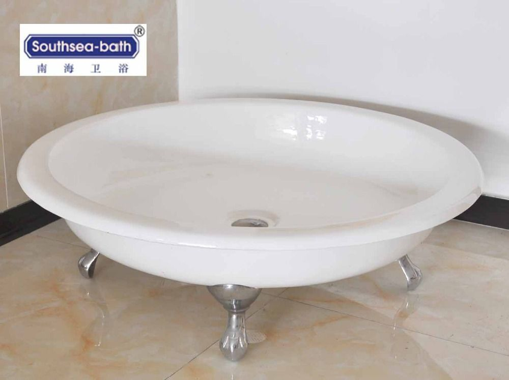 Round Shower Pan/cast Iron Shower Base , Find Complete Details about ...