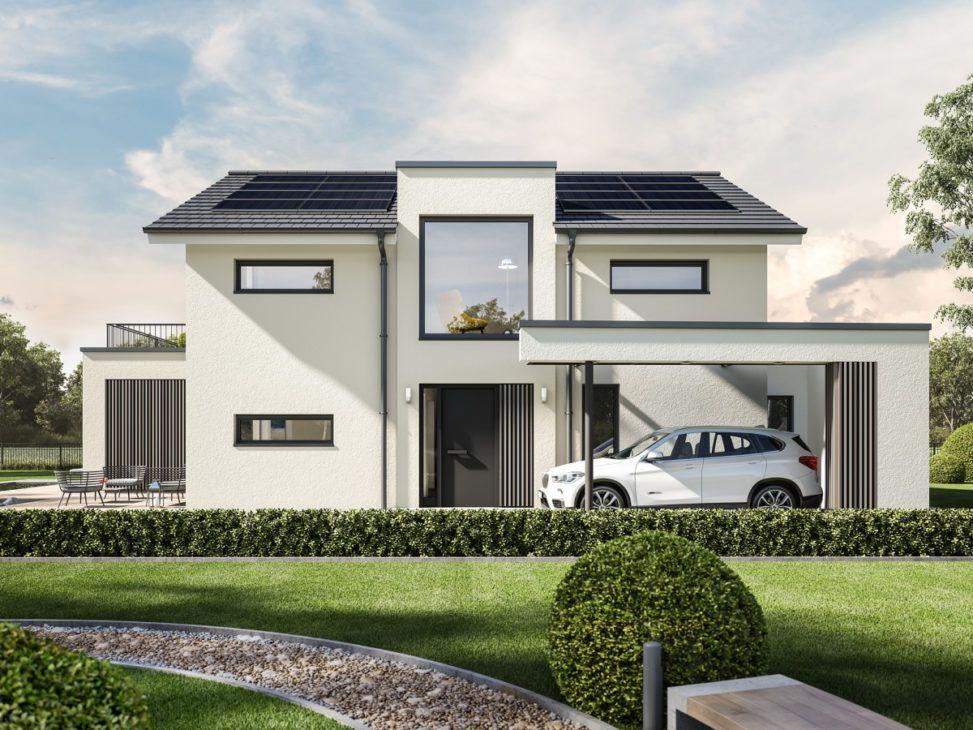 Concept M 154 Bien Zenker Hausbaudirekt Modern House Exterior Skylight Design Home Design Plan