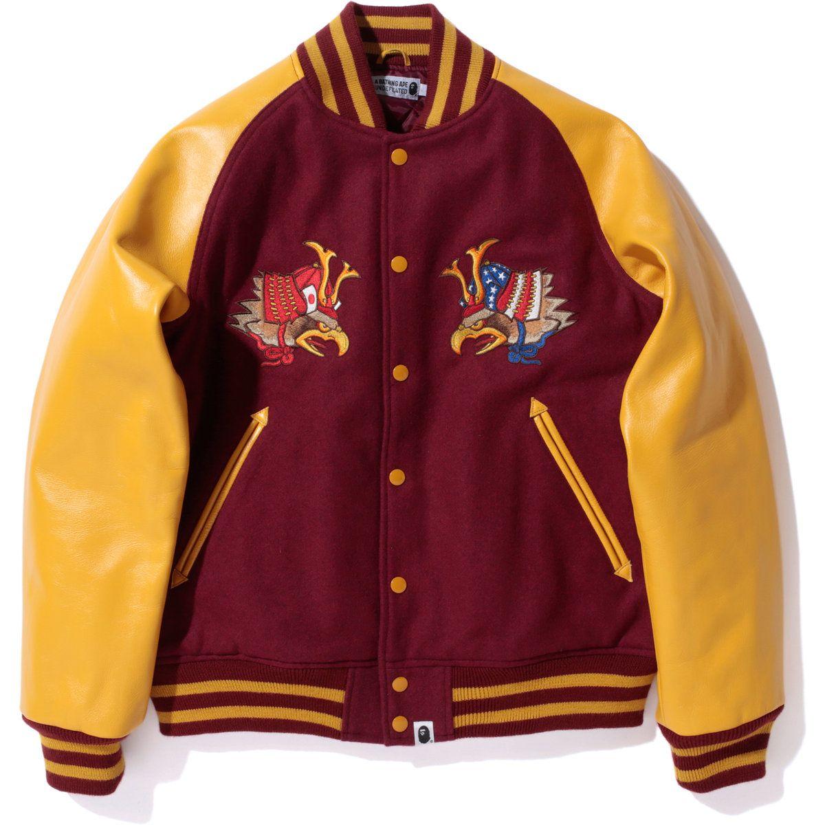 2f829656f BAPE ® – Bape X UNDFTD Varsity Jacket | Goods | Bape, Jackets, Dope ...