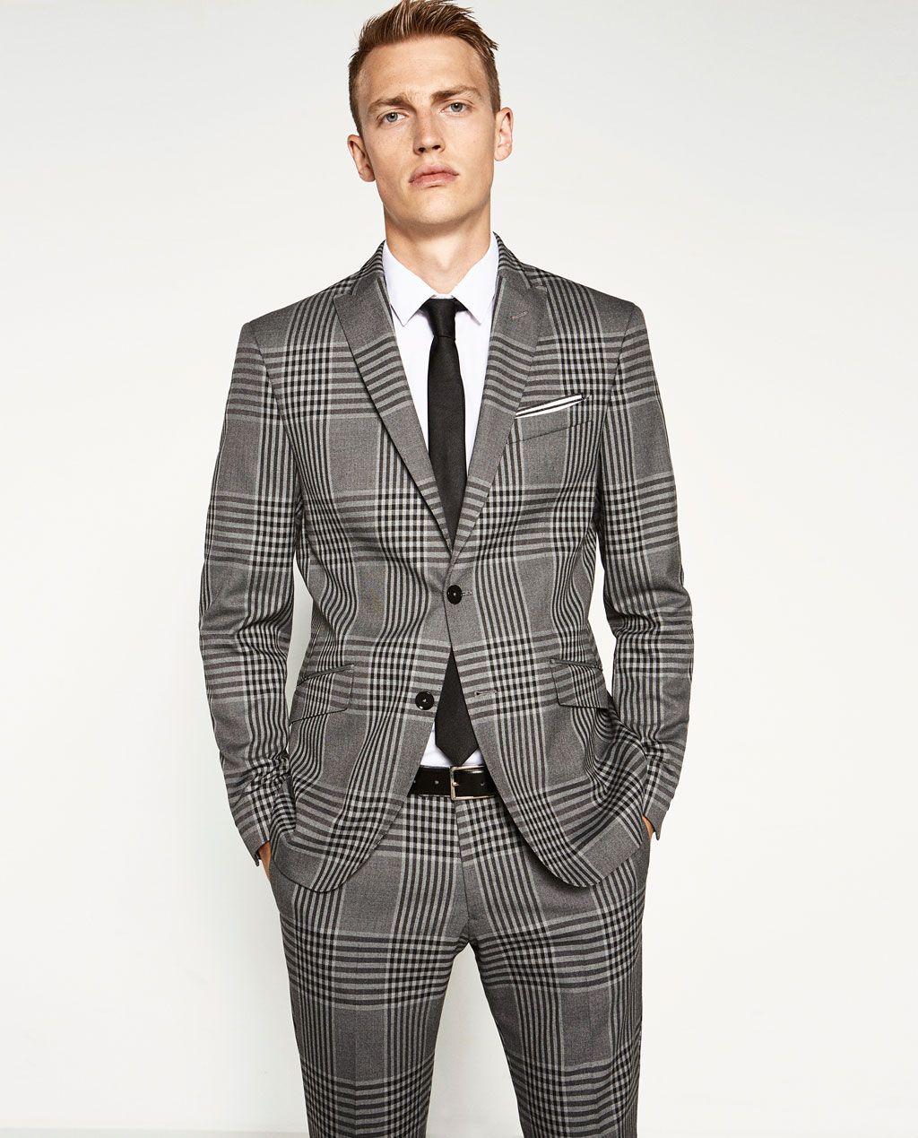 Image 2 De Blazer à Carreaux De Zara Style En 2019 Style