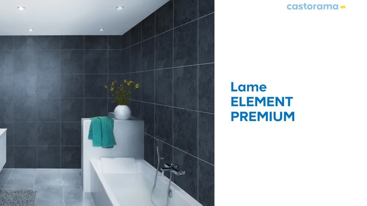 Lames Adhesives Element Premium Grosfilex 650679 Castorama Castorama Meuble De Salle De Bain Lame