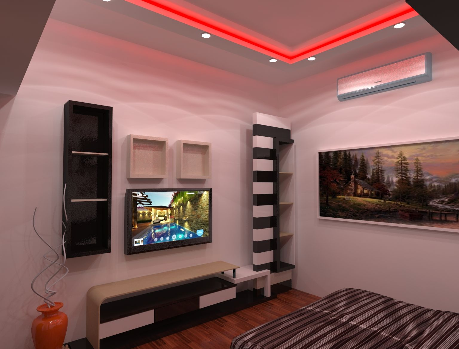 Home Interior Design Work Done In 3ds Max And V Ray With Images