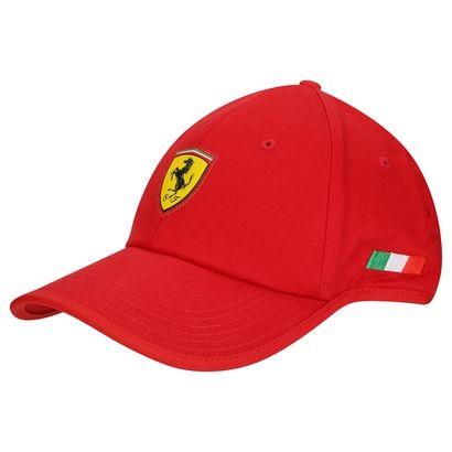 Acrescente seu lifestyle favorito nas produções diárias com o Boné Puma  Ferrari Fanwear flowback Vermelho. b04ea3728f7