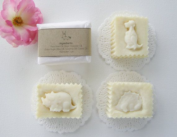 Natural soap for kids by CIAOCIAOatChiangmai on Etsy, ฿80.00