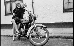 Nico, 1964    Nico was German but moved to London in 1963 and became a model. She called    herself Orla and was quite a success both as a model and as a personality.    She was a girlfriend of Brian Jones and Gordon Waller of Peter and Gordon.    Later, she left London and stared in Fellini's La Dolce Vita    before joining the Andy Warhol-managed band The Velvet Underground as a    singer. During this time she became Warhol's muse. She was addicted to    heroin for years. She was on…