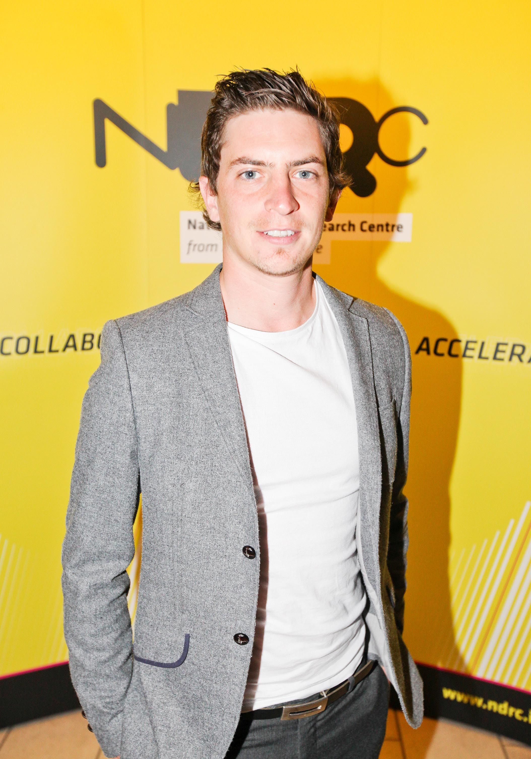 Eoghan at the Launchpad......launch. Sept '11