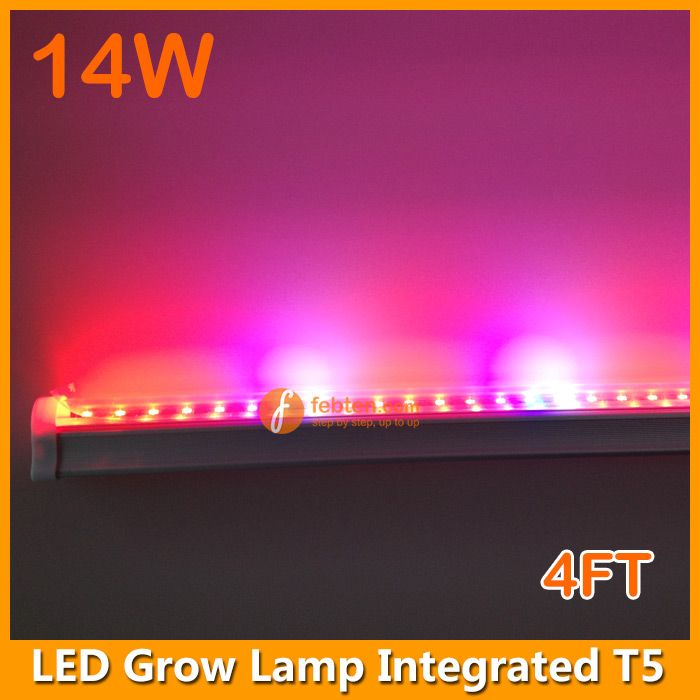 14w Led Grow Lamp Integrated T5 4ft Hydroponic Growing Led Grow Lights Grow Lamps Led Grow