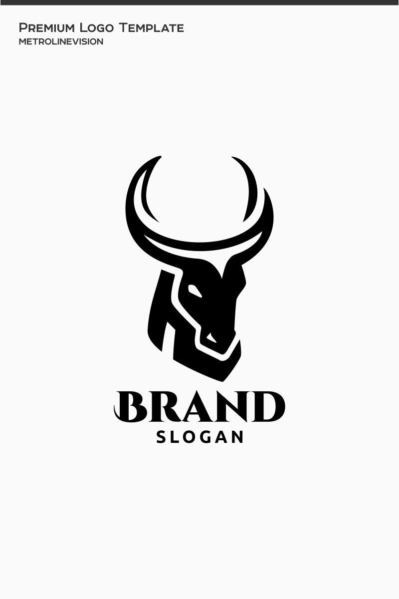 Bull Logo Template 77013 Bull Logo Logo Templates Logos
