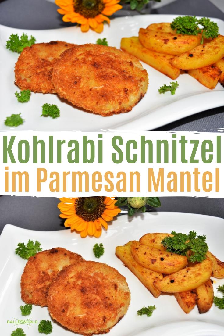 Photo of Kohlrabi Schnitzel im Parmesan Mantel