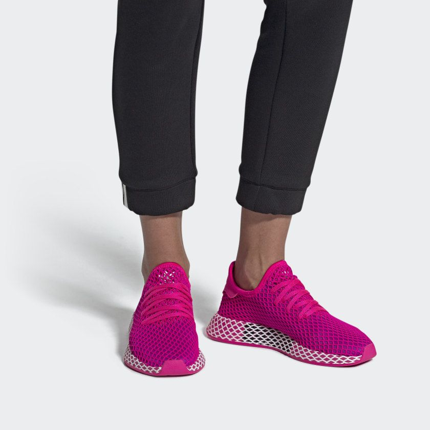Deerupt Runner Shoes Shock Pink / Vivid Pink / Cloud White ...
