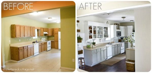 paint kitchen cabinets before and afterKitchen Remodels  Before And After  Kitchen cabinetry Redo