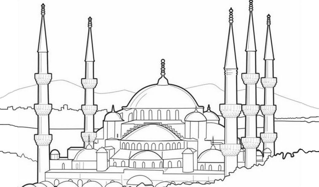 Baru 30 Gambar Kartun Masjid Nabawi Mewarnai Gambar Masjid Kartun Gudangnya Gambar Sketsa Kartun Download Masjid Halaman Mewarnai Menggambar Sketsa Sketsa