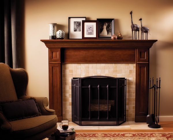 Fireplace Mantel Ideas Custom Built For A Living Room