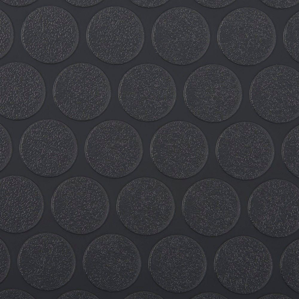 Small Coin 5 Ft X 10 Ft Slate Grey Vinyl Garage Flooring Cover And Protector Vinyl Garage Flooring G Floor Garage Floor Mats