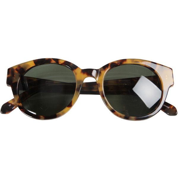 2257194669ed Karen Walker Anywhere Sunglasses in Tortoise Shell ( 295) ❤ liked on  Polyvore