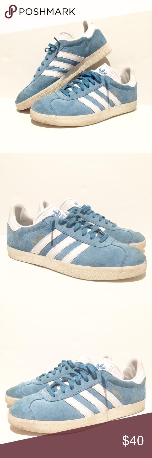 baby blue adidas gazelle