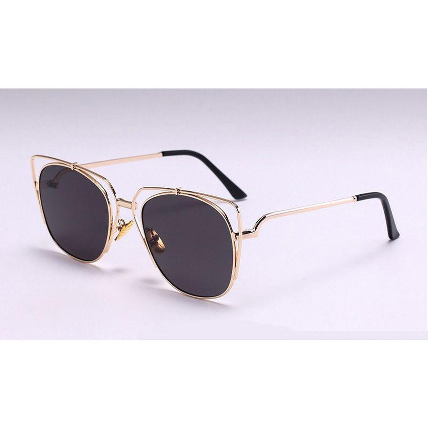 96b91f4de167 Women Polarized Aviator Sunglasses Fashion Oculos Gold Silver frame Glasses  UV400 Shades Round Sunglass Female Eyewear (Black) | Lazada Singapore