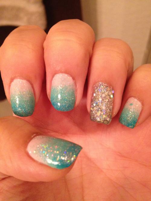 ombre nails | Tumblr | nails | Pinterest | Ombre
