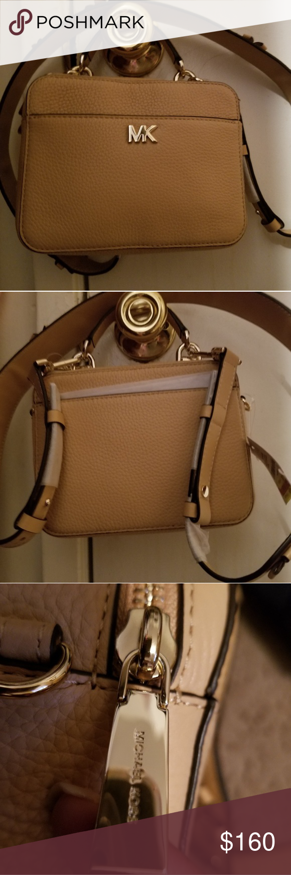 facf12039d54 NWT Michael Kors Mini Guitar Strap Crossbody  100% Authentic Brand New With  Tags Michael