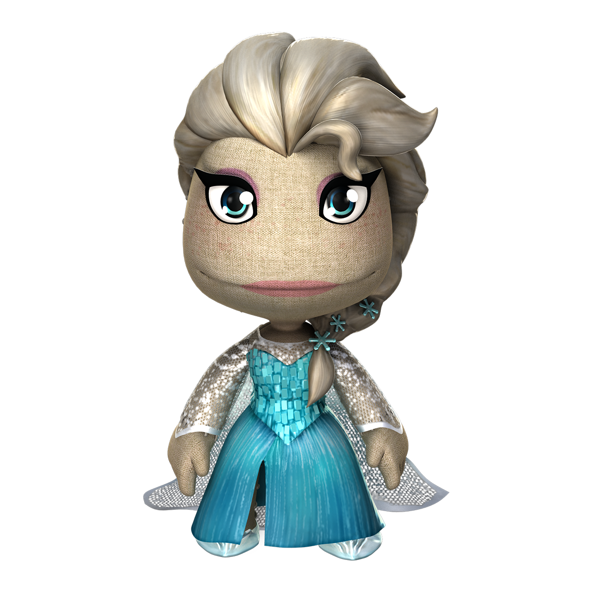 little big planet elsas costume #funny #cool #frozen | AllGames ...