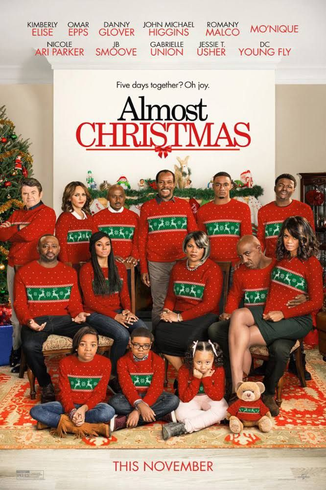 Almost Christmas Nov 11 Pg 13 A Dysfunctional Family Gathers Together For Their First Christmas S In 2020 Almost Christmas Movie Christmas Movies Christmas Trailer