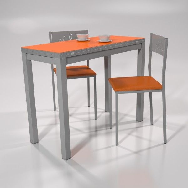 Conjunto apolo | Mesas de cocina, Mesa libro cocina y Sillas ...