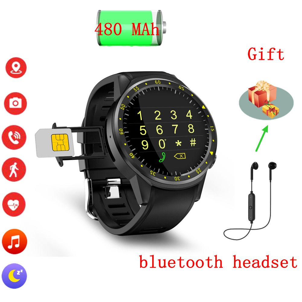 F1 gps sport smart watch with camera altimeter compass