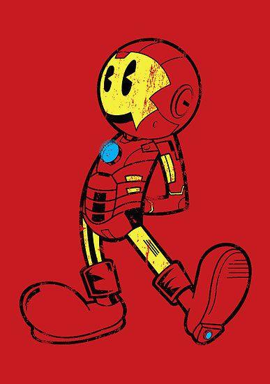 Iron Man like Mickey Mouse