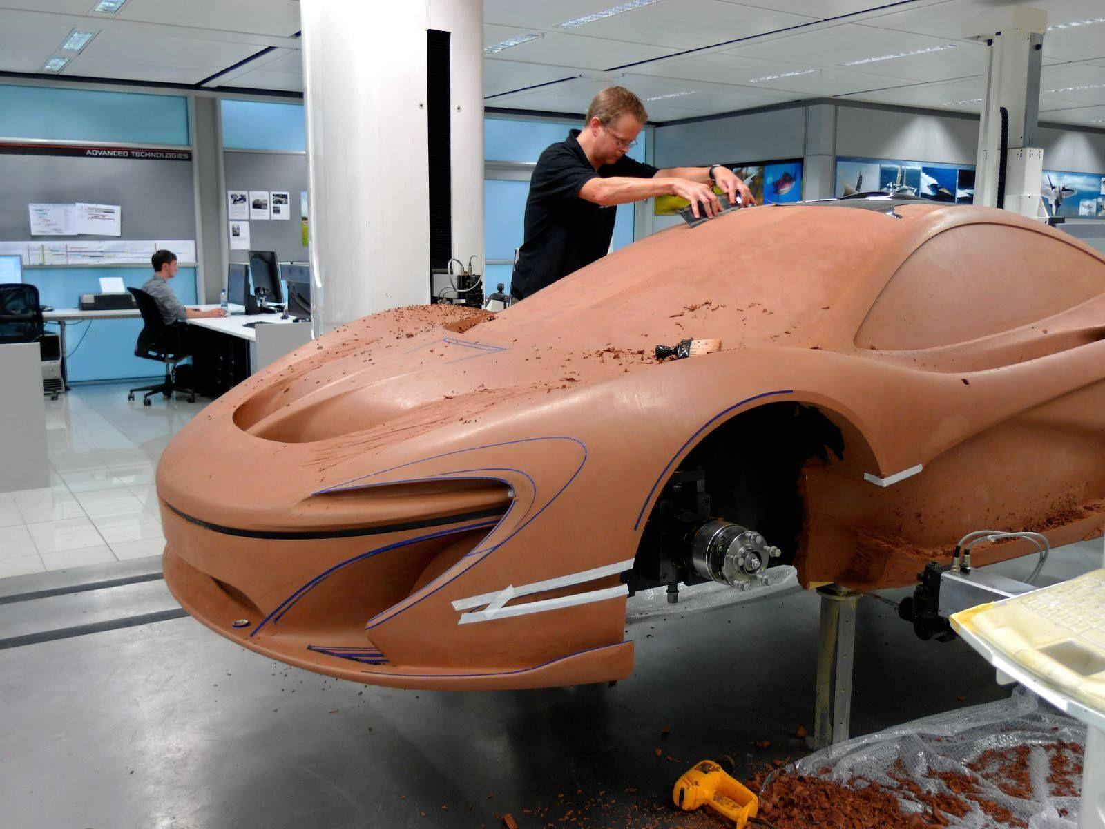 Design of car model - Mclaren P1 Clay Model
