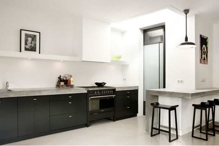 Zwarte Keuken Ideeen : De 15 mooiste moderne keukens moderne keukens keukens en keuken