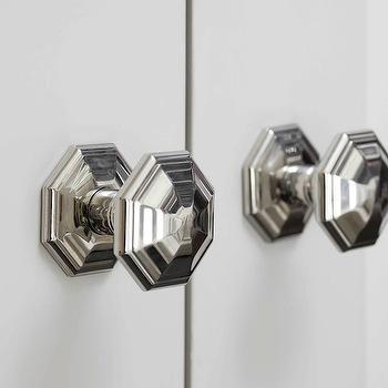Octagonal Faceted Door knobs | Door\'s | Pinterest | Door knobs ...
