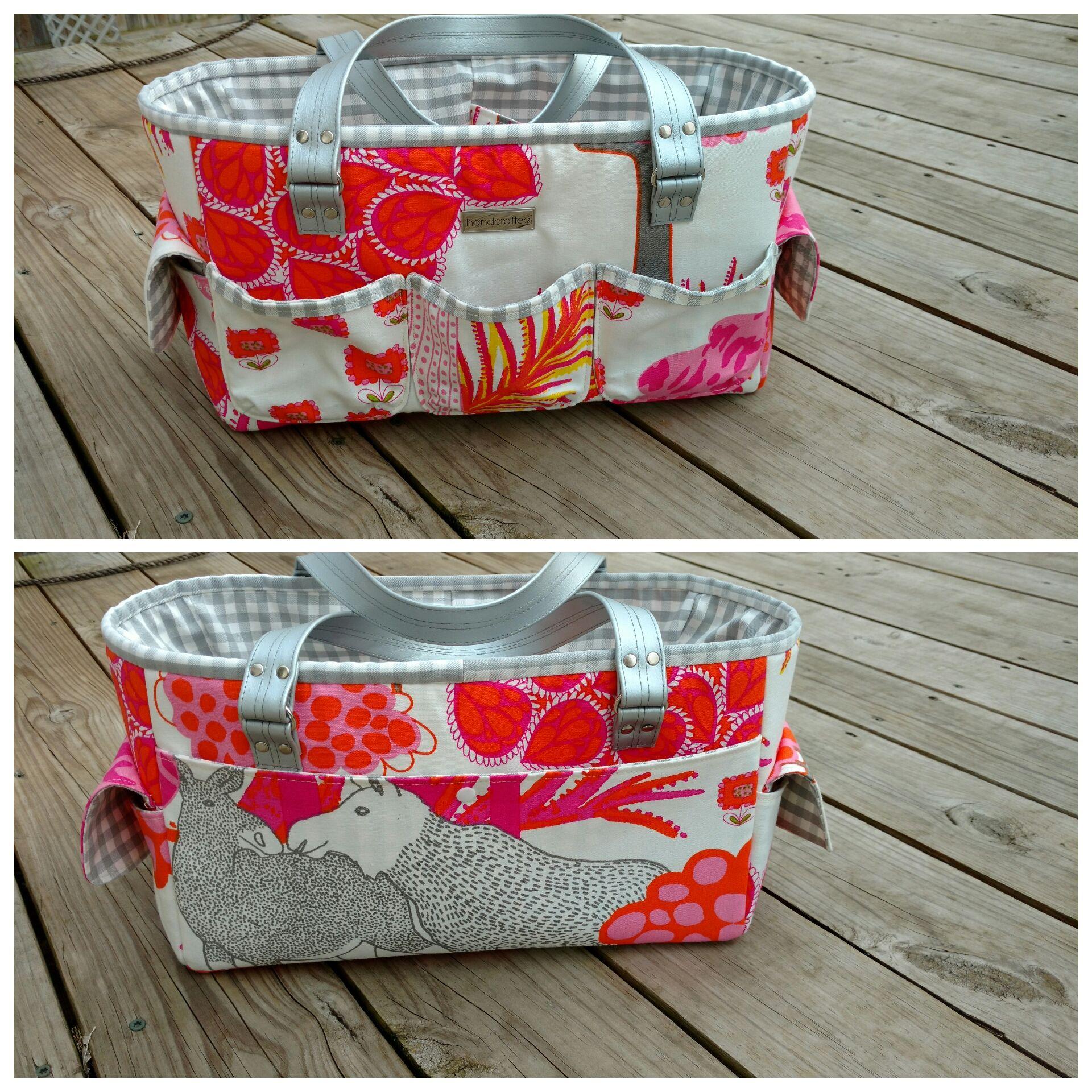 FREE Oslo Craft Bag pattern | Craft bags, Bag patterns to ...
