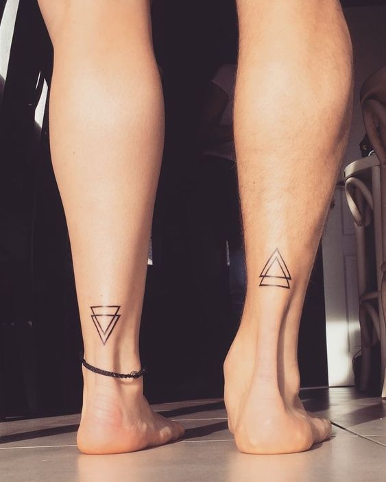 15 Couples Tattoos To Consider That Aren't Each Other's Names – Society19 in 2020 | Best couple tattoos, Couple tattoos love, Sister tattoos