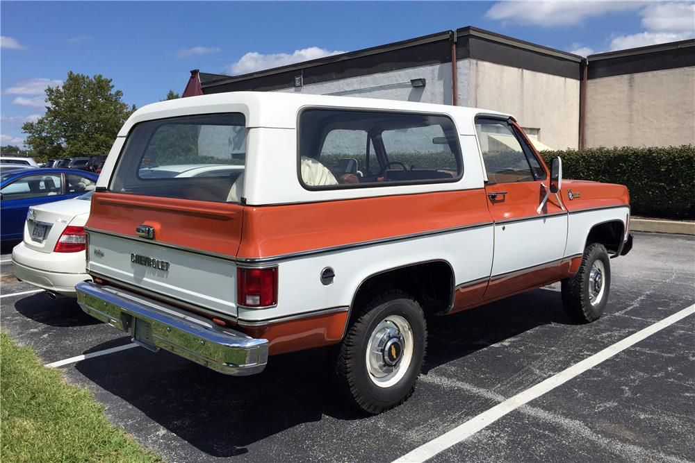 1975 Chevrolet K5 Blazer Rear 3 4 187062 Gmc Trucks K5