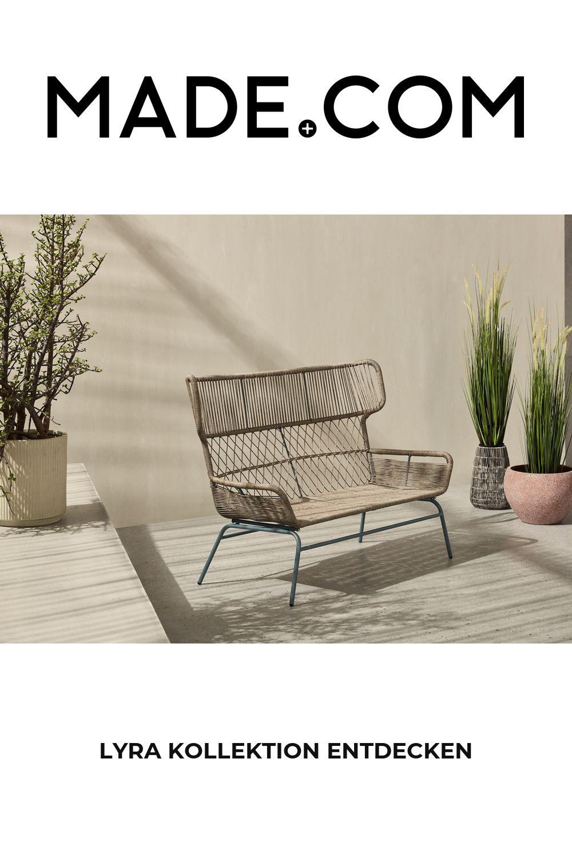 Made Gartensofa Grau Home Decor Sofa Furniture