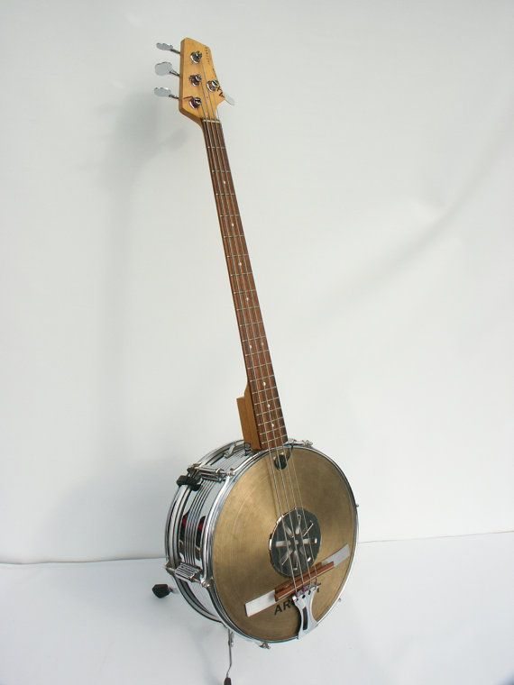 banjo bass handmade custom bass music related acoustic guitar guitar cigar box guitar. Black Bedroom Furniture Sets. Home Design Ideas