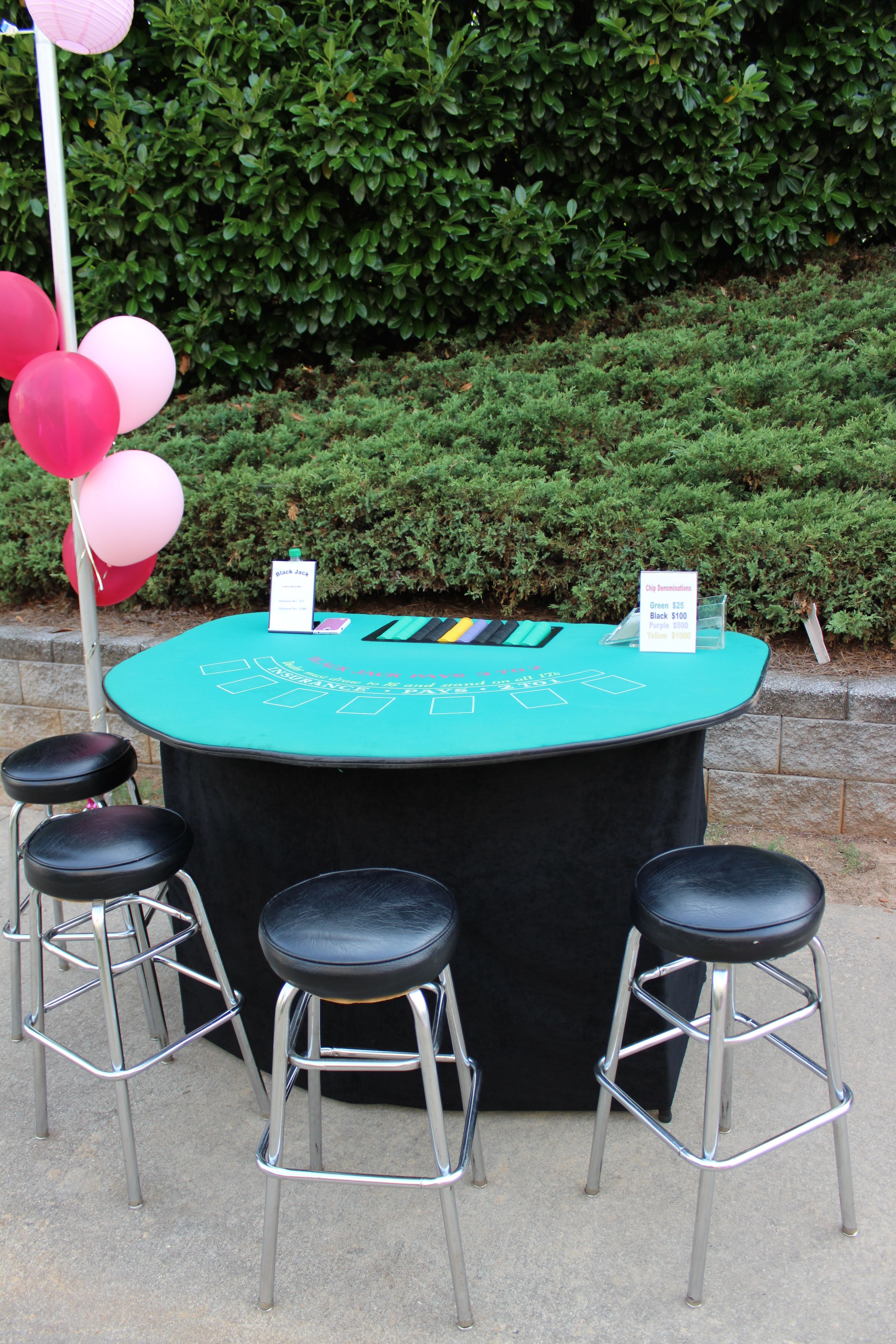 Pin by The Party Girl Events on 50th Birthday (Block Party ...