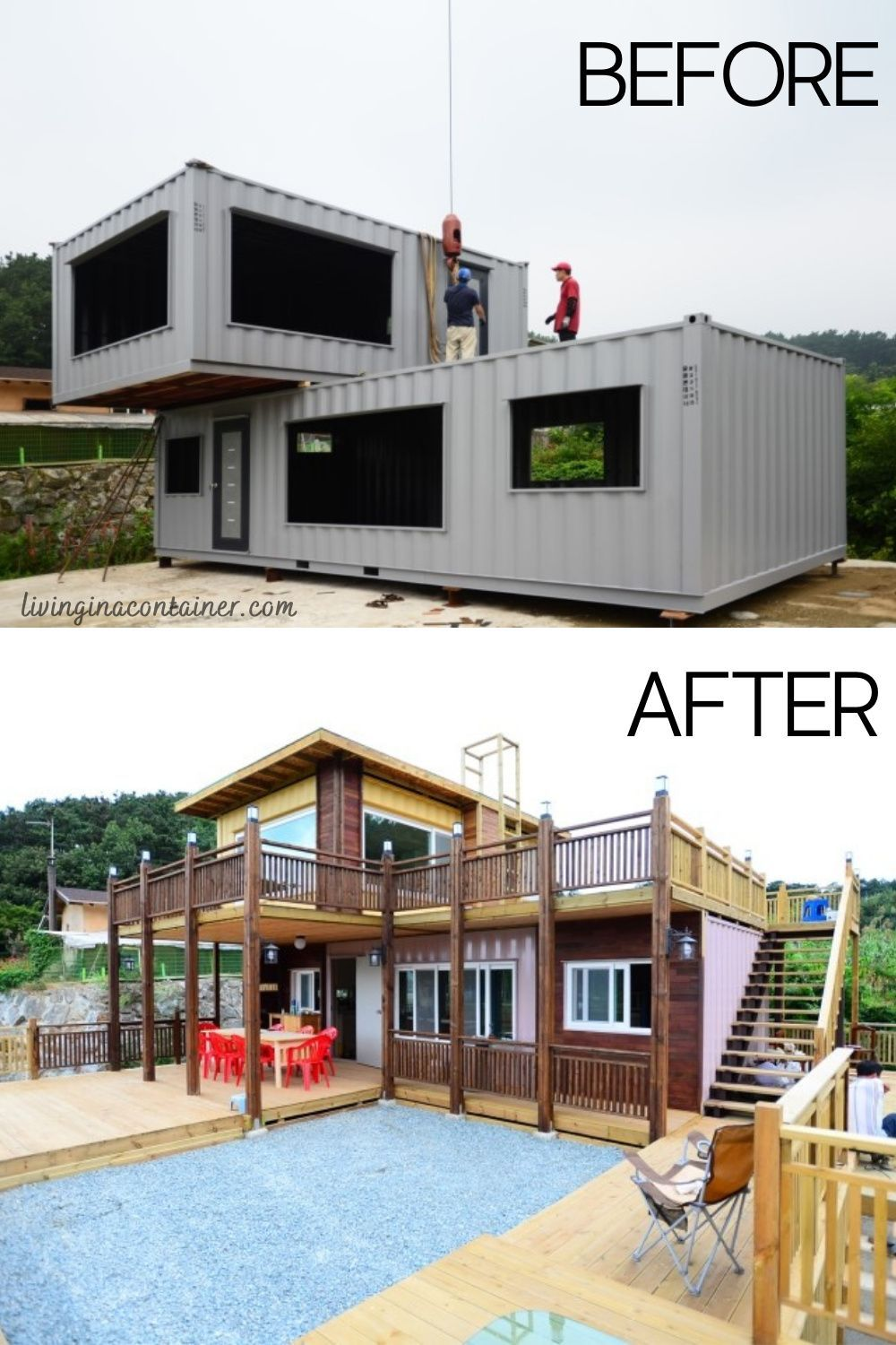 This Container House in South Korea Looks Really Authentic