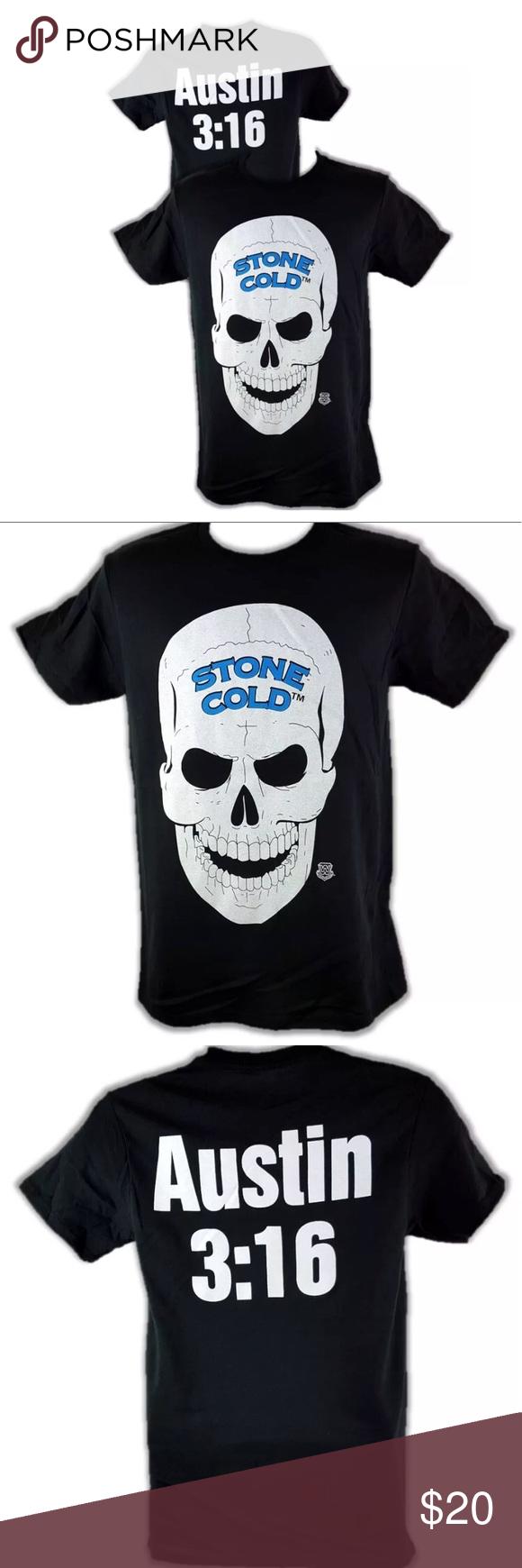 Stone Cold Steve Austin Skull Shirt Skull Shirts Stone Cold Steve Steve Austin