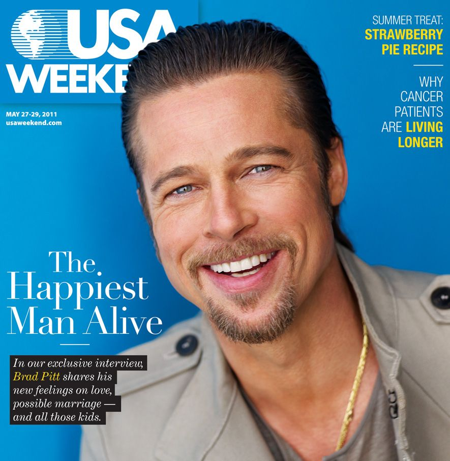 brad pitt magazine covers   Brad Pitt Magazine
