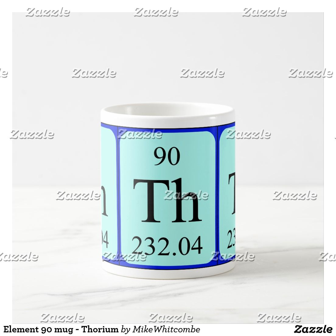 Element 90 Mug Thorium