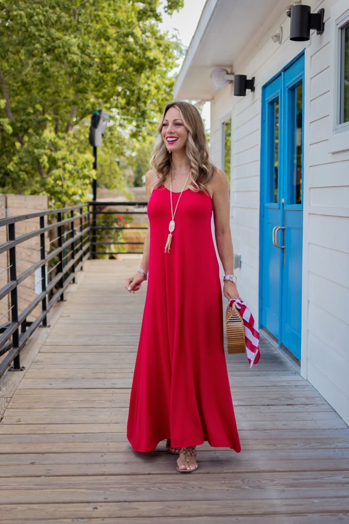 Cute Fourth Of July Outfit Ideas Honey We Re Home Cute Maxi Dress Summer Dress Outfits Maxi Dress Pattern [ 1801 x 1200 Pixel ]