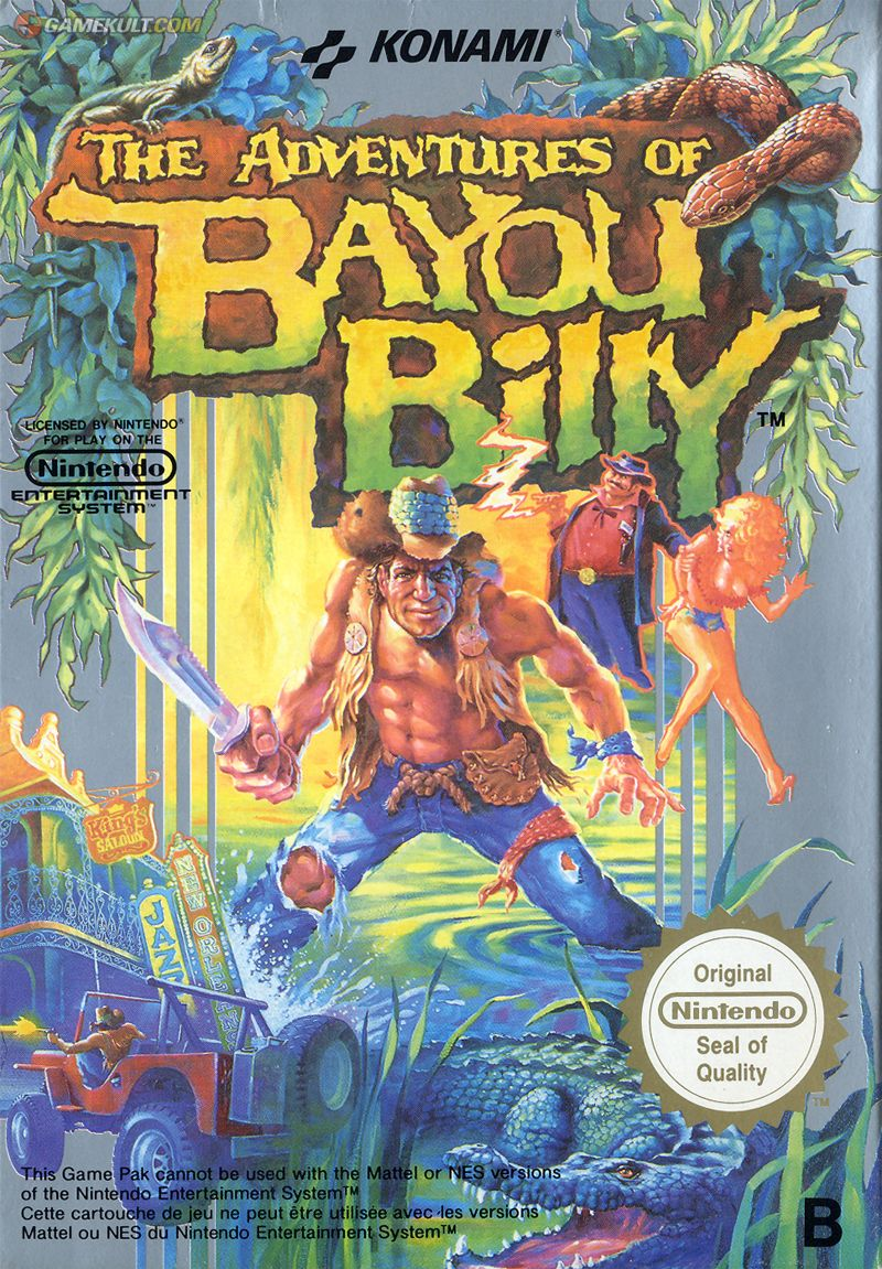 The Adventures Of Bayou Billy Video Games Nes Games